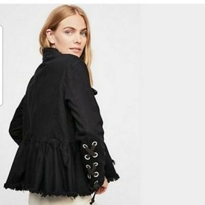 Nwt Free people willow jacket sz xs